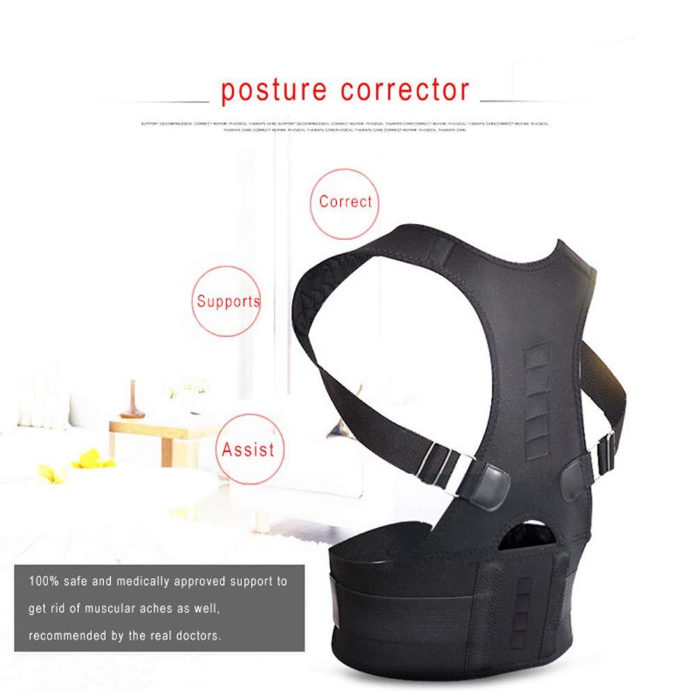 Correcteur De Posture De R/églage De Posture,S VIWIV Ceinture De Correction Adulte Magn/étique De Support De Posture