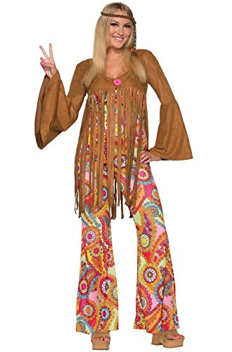 Mememall Fashion 1970's Disco Groovy Sweetie Adult Costume (M/L) (Groovy Disco Guy Adult Costume)
