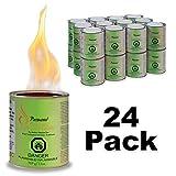 Paramount Gf‐Can‐03 Indoor/Outdoor Gel Fuel, 24 Pack