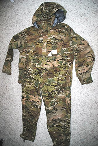 Us Army Issue Ecwcs Gen III Level 6 Gore Tex Multicam Extreme Cold/Wet Weather Set - Medium Regular