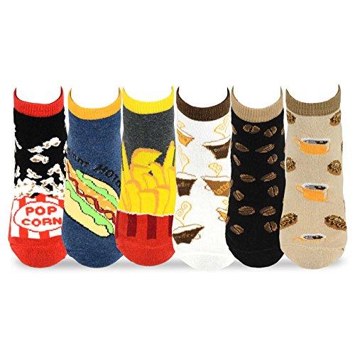 TeeHee Womens Foods Socks 6 Pack product image