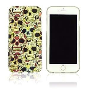OnlineBestDigital - Designer Soft Case Cover for Apple iPhone 6 Plus (5.5 inch) Smartphone - IP6P-HP01-SKULL