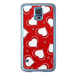 Loud Universe Samsung Galaxy S5 Love Valentine Printing Files A Valentine 128 Printed Transparent Edge Case - Red