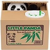 SPM168 Cute Stealing Coin Little Panda Money Bank,Saving Box,Panda Money Box