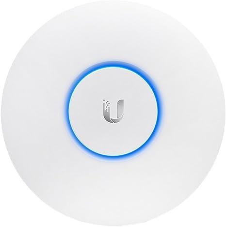 Ubiquiti Networks UAP-AC-LR - Punto de Acceso Inalámbrico, Puerto Ethernet 10/100/1000, Blanco, 175.7 x 175.7 x 43.2 mm