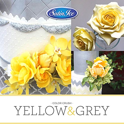 Satin Ice Yellow Gum Paste, 2 pounds, Decorative Sugar Icing by Satin Ice (Image #1)