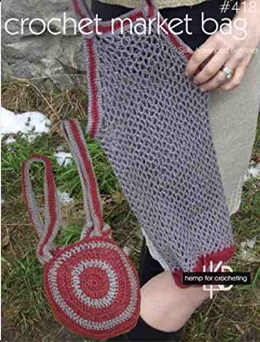 Amazoncom Crochet Market Bag Pattern 418
