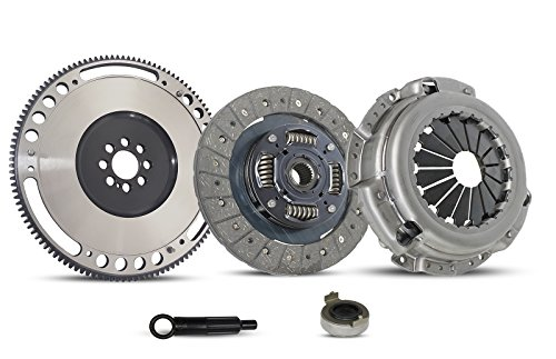 Clutch With Flywheel Kit Works With Acura Cl Honda Accord Prelude Dx Ex Lx Value Base Type Sh Premium Se Si Vtec 1990-2002 2.2L L4 Gas Sohc 2.3L L4 Gas ()