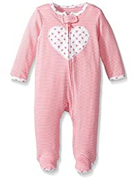 "Carter's Baby Girls' ""Little Strawberries"" Footed Coverall"