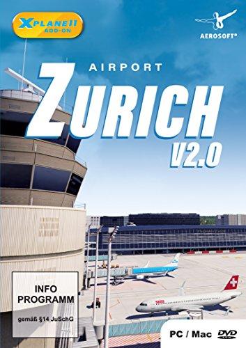(XPlane 11 AddOn Airport Zürich V)