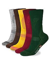 Merino Wool Hiking Crew Socks for Trekking, Performance & Outdoor, Men & Women