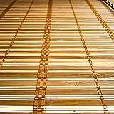 ALEKO BBL23X64BR Light Brown Bamboo Roman Wooden
