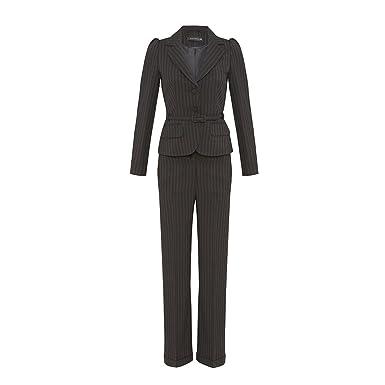 cheap low cost amazing price Zara - Pantalon - À Rayures - Femme - Noir - 38 svelte ...