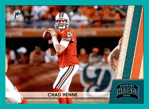 2011 Panini Threads #79 Chad Henne MIAMI DOLPHINS