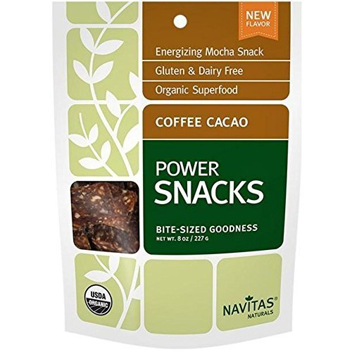 Navitas Naturals Elementary Coffee Cacao Power Snacks, 8 Ounce -- 12 per case.