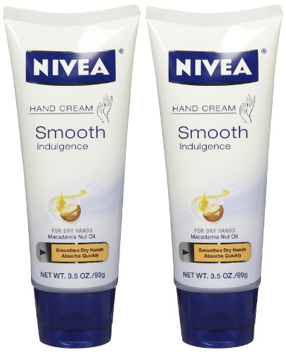 NIVEA Smooth Indulgence Hand Cream 3.5 Ounce