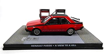 James Bond Renault Fuego Turbo 007 A View to a Kill 1/43 (DY086