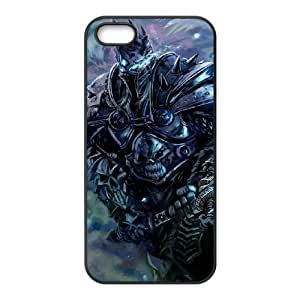 World Of Warcraft iPhone 5 5s Cell Phone Case Black Customized Gift pxr006_5317069