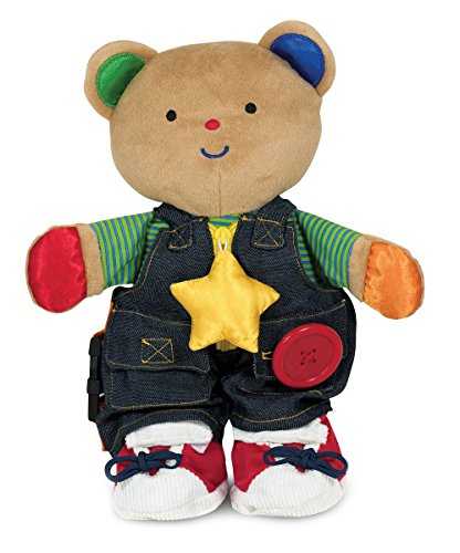 Melissa & Doug K's Kids - Teddy Wear Stuffed Bear Educational (Old Teddy Bear)