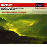 Brahms: Variations On A Theme By Haydn / Symphonies No.s 1-4 [3CD Box Set]
