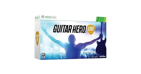 Activision Guitar Hero Live (Spiel + Gitarre) - Juego (Xbox 360 ...