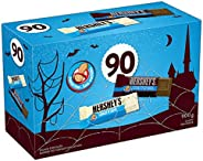 HERSHEY'S Halloween Chocolate Candy Assortment (Milk Chocolate Bars, Cookies 'N' Crème Bars) 90 Co