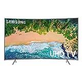 SAMSUNG 49' Class Curved 6-Series 4K Ultra HD Smart HDR TV - UN49NU6300FXZA