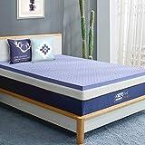 BedStory Memory Foam Mattress Topper Full 3