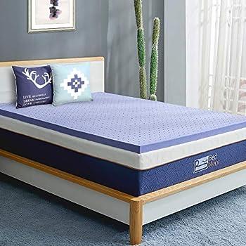 Amazon Com Bedstory Memory Foam Mattress Topper Full 3