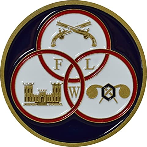 Fort Leonard Wood Challenge Coin by Military Productions (Military Fort)