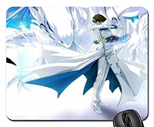Kaiba and the Blue Eyes White Dragon Mouse Pad, Mousepad (10.2 x 8.3 x 0.12 inches)