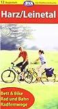 ADFC-Radtourenkarte 12 Harz / Leinetal: Radfernweg