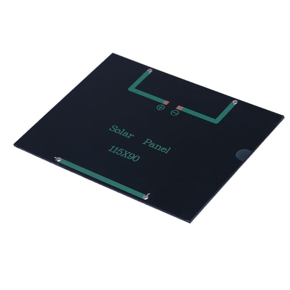 Amazingdeal 12/V 1.5/W /époxy Panneau solaire en silicium polycristallin DIY module de puissance de la batterie