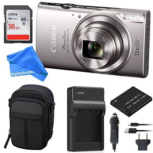 Canon PowerShot ELPH 360 Digital Camera w/Wi-Fi & NFC Enable