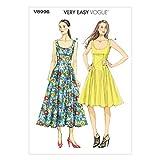 Vogue Patterns V8996 Misses' Dress Sewing Template, Size B5 (8-10-12-14-16)