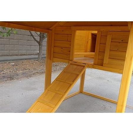 Il Verde Mondo - Padovana XXL - Gallinero de madera de jardín para 6-10 gallinas: Amazon.es: Jardín