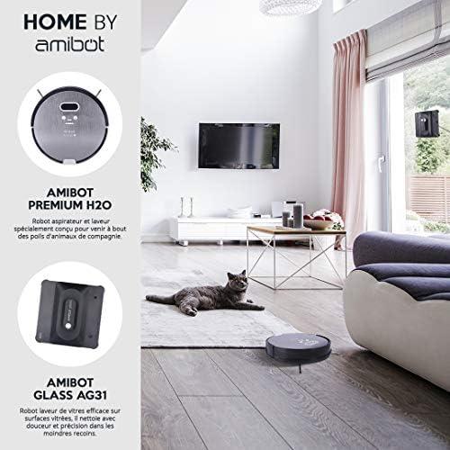 AMIBOT Glass AG31 - Robots Laveurs de Vitre - Home Robots