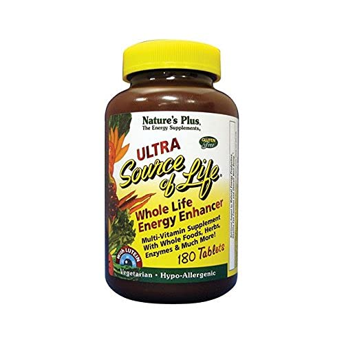 Nature's Plus Ultra Source of Life with Lutein 180 Tabs