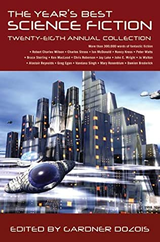 book cover of The Year\'s Best Science Fiction: Twenty-Eighth Annual Collection