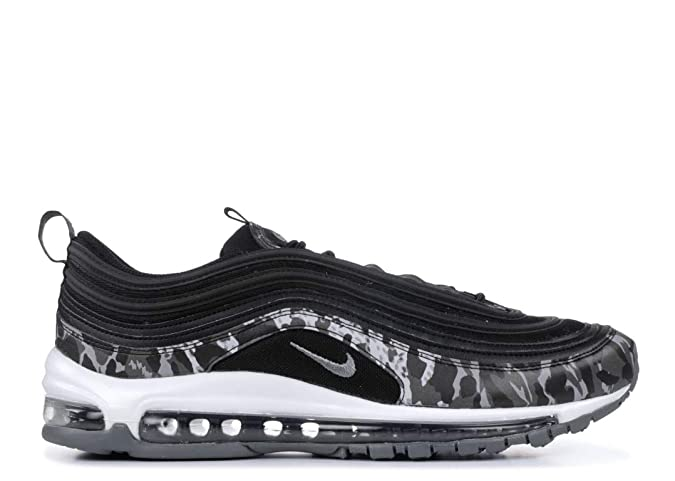 b62d0e48f7 Amazon.com | Nike Womens Air Max 97 Leather Padded Insole Running Shoes |  Road Running