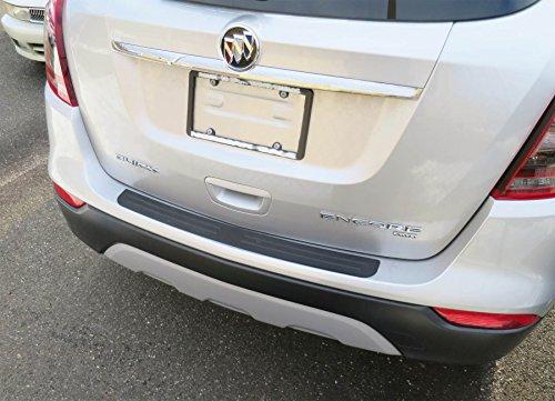 Zeta Rear Bumper Top Surface Protector Fits 2013-2018 Buick Encore