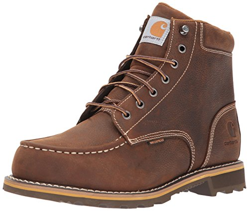 "Carhartt Men's 6"" Lug Bottom Moc Soft Toe CMW6197 Industrial Boot"