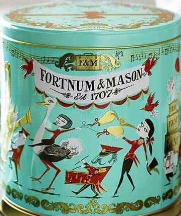 Fortnum & Mason Birthday Biscuit Selection Tin 450g