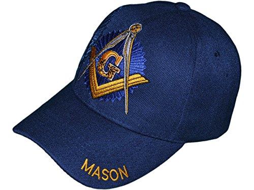 Masonic Baseball Hat - USA Headwear Freemason Embroidered Mason Lodge Baseball Cap Hat