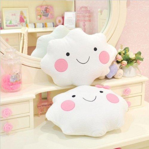 Ikea Kissen Wolke.Nettes Lächeln Bowknot Wolken Plüsch Kissen Kissen