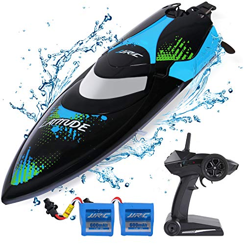 SGILE RC Boat Toys for Pool & Outdoor Use - 2.4GHz 25KM/H High-Speed Remote...