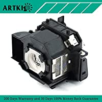ELPLP34 Replacement Lamp for Projector Epson PowerLite 62C 76C 82C EMP-62 EMP-62C EMP-63 EMP-76C EMP-82 EMP-X3