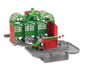 thomas the train take n play knapford station toys games. Black Bedroom Furniture Sets. Home Design Ideas