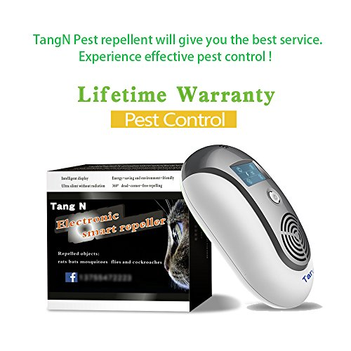 Tangn Ultrasonic Electromagnetic Pest Repellent Electronic