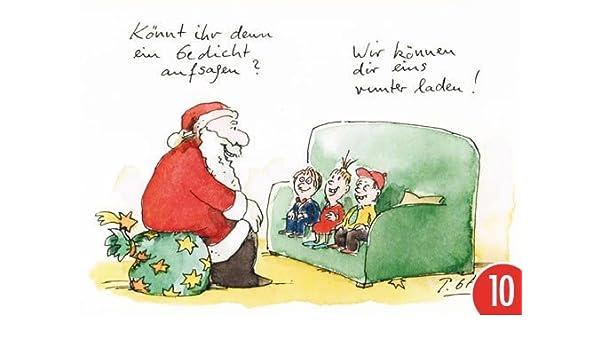 Pack de 10: Postal A6 + + + Navidad de Modern Times + + + abajo ...